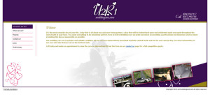 U2R1WeddingCars website before updating